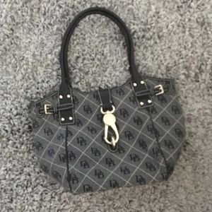 Authentic Dooney and Bourne Hobo style bag